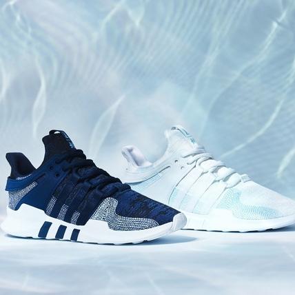 球鞋控們自己看著辦!adidas Originals 再與 Parley 合作推海洋藍白調潮鞋