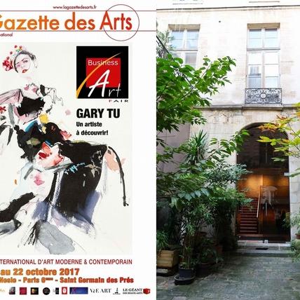 美得讓人忘了呼吸!台灣時尚插畫家GaryTu絕美畫作 躍上巴黎Business Art Fair主視覺