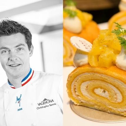 法國MOF名廚Christophe Renou客座台北君悅茶苑,獨家口味甜點只有這裡吃得到