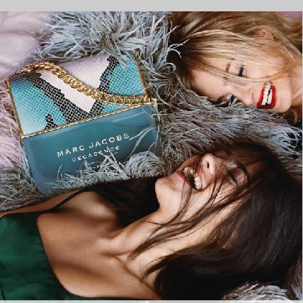 加上粉色漸層的經典蛇紋瓶蓋,Marc Jacobs粉紅狂歡女性淡香水,根本就是女孩的香氛玩具
