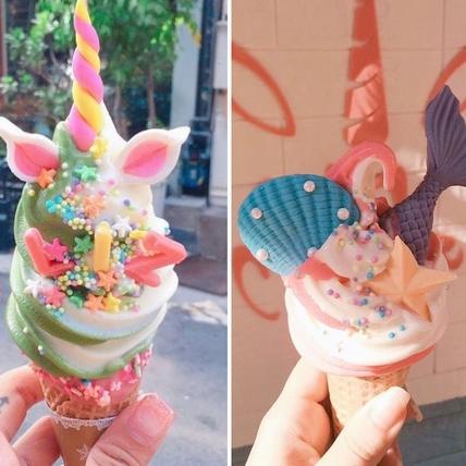夢幻王國走出來的冰淇淋!獨角獸、美人魚,捷運中山站的Uni Cone魔法棒冰淇淋讓妳少女心大噴發