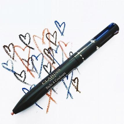 眼影眼線、眉毛唇彩通通轉成一支自動筆  變身化妝包的減肥救星