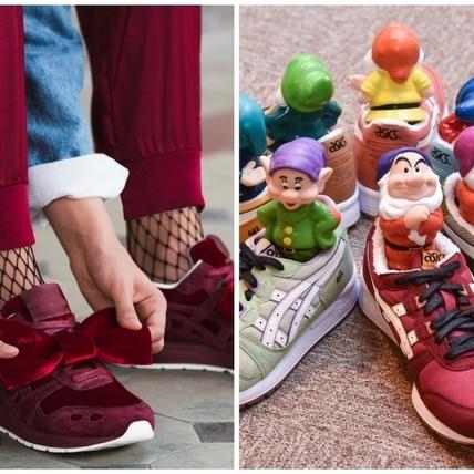 白雪公主也搞聯名!ASICSTIGER X 迪士尼最新鞋款,好想把壞皇后踩腳下!