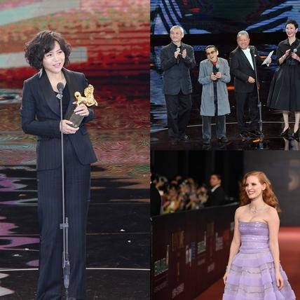 金馬54/文晏導演+新藝城港星最吸睛 潔西卡雀絲坦讚女力爆發