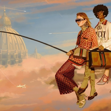 彷彿在夢境!Gucci 2018春夏廣告超奇幻 帶你去超現實國度遨遊