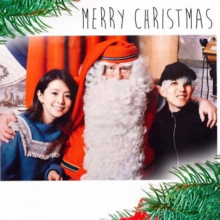 林宥嘉曬蜜月合照 選在耶誕節公布喜訊