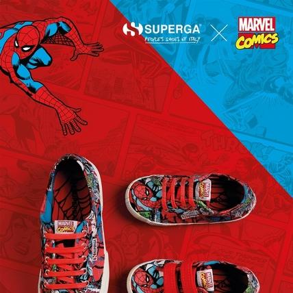 小蜘蛛真的太可愛!義大利最火帆布鞋Superga聯手復仇者聯盟,時尚戰鬥力爆表!