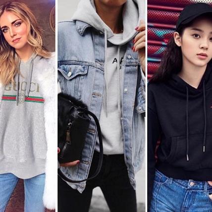 你就差一件帽T提升時尚度!看看蔡依林、歐陽娜娜、Chiara怎麼利用帽T完勝穿搭