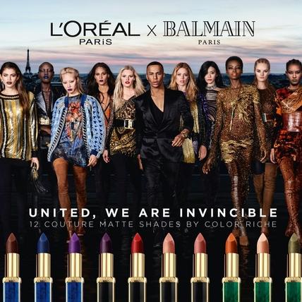 從外觀設計就超精美!L'Oreal X BALMAIN 12色限量訂製唇膏,顏色驚艷令人尖叫