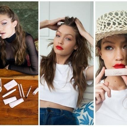 GIGI HADID x MAYBELLINE聯名彩妝將開賣  唇膏#23 #24色亞洲女生必買