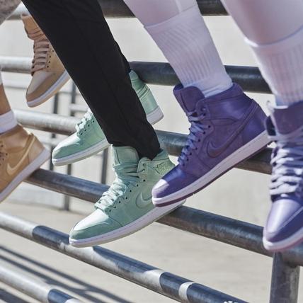 少女心入侵球鞋界!全十色馬卡龍Air Jordan I 緞面鞋款太生火