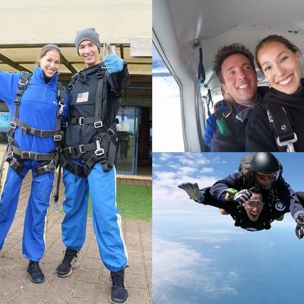 錦榮墨爾本噴父愛 Akemi煞到跳傘帥教練