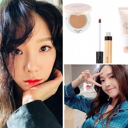 還在追求發光美肌?潮流女星太妍、潤娥、早已換上雪紡般「半霧感」底妝,妳還不快跟上!