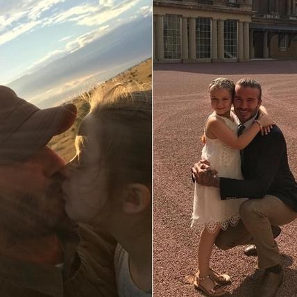 女兒傻瓜無誤!細數帥老爸David Beckham為了Harper降低智商的瞬間XD