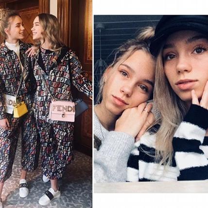 根本是複製貼上!國外爆紅雙胞胎姊妹靠著對嘴App一路殺進時尚大秀