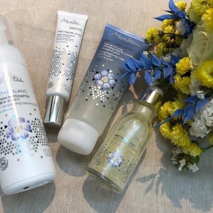 想變白就先把臉卸乾淨 Melvita百合花姸亮白系列 讓肌膚髒東西通通走開