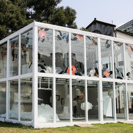 連假打卡這邊去!TAST X VITA FEDE華山快閃店,透明玻璃屋、水晶燈彷彿公主的家