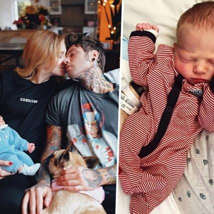 每張照片都是愛!義大利部落客Chiara與未婚夫兒子誕生,照片萌翻千萬粉絲