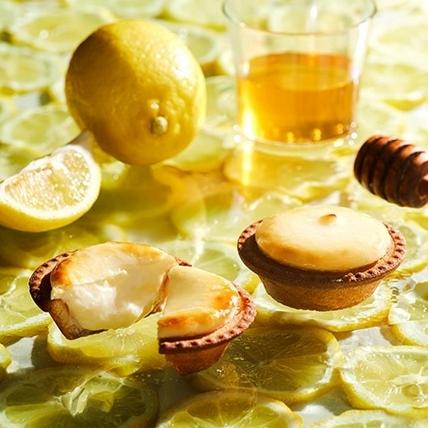 酸香甜蜜的春季新味覺,BAKE CHEESE TART新口味瀨戶內蜂蜜檸檬起司塔4月限量上市