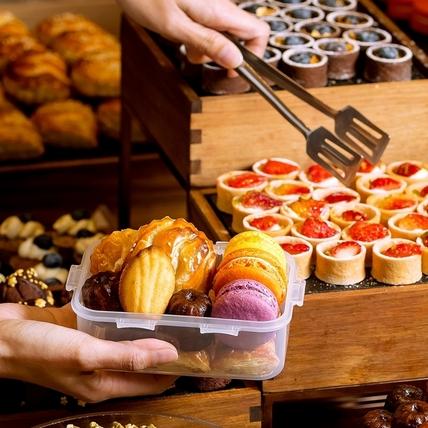 吃到飽還能打包?!美福彩匯自助餐送你保鮮盒,多樣美食樂扣帶著走