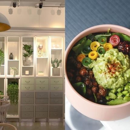 風靡全球的紓壓飲食!新概念蔬食餐廳「小小樹食」讓蔬食更時尚