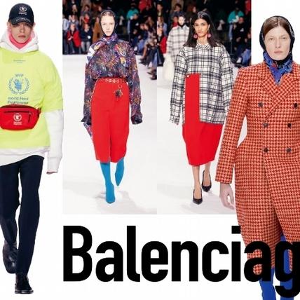 【2018秋冬巴黎女裝周】Balenciaga  塗鴉山上的線條遊戲