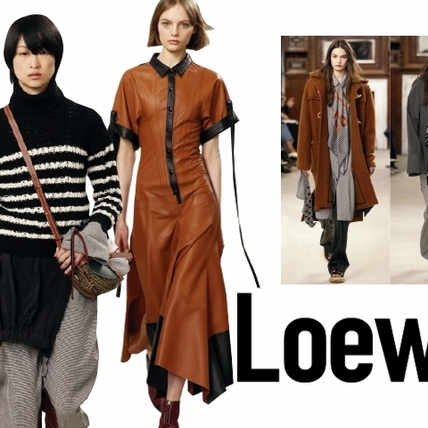 【2018秋冬巴黎女裝周】Loewe    靜謐後純粹的力量