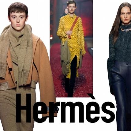 【2018秋冬巴黎女裝周】Hermès    出其不意的優雅