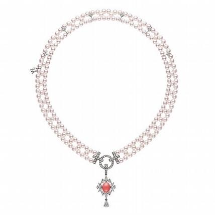 經典的摩登  MIKIMOTO 125周年頂級珠寶展