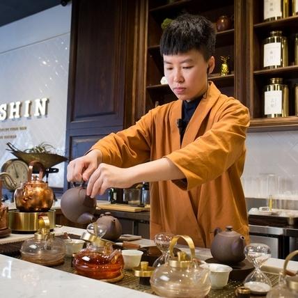 茶屋裡尋台灣味