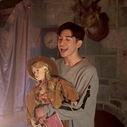 張立昂遭鬼娃娃附身賣萌 榜樣竟是KID