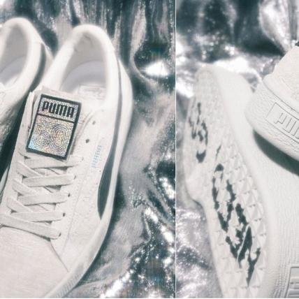 連鞋盒都閃到爆!PUMA Suede再出PANINI閃卡新聯名,全台限量只有100雙