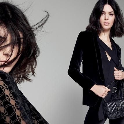 Kendall Jenner巴黎街頭化身女騎士 率性代言Longchamp 秋冬新作