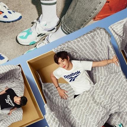 少女漫畫的男主全出動!韓國超人氣男團Wanna One演繹Reebok經典復古跑鞋翻玩當紅老爹鞋潮流