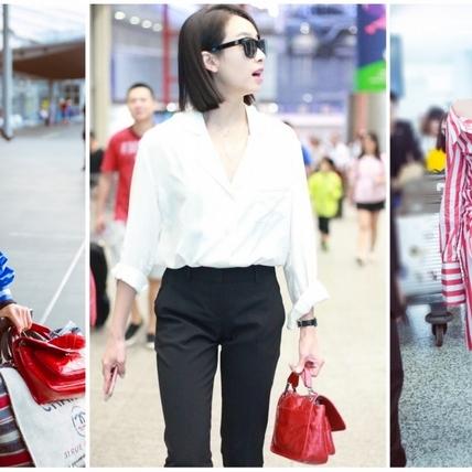 女神宋茜時髦新包換不停!新歡曝光正是Saint Laurent鍊條包和Chanel購物袋!