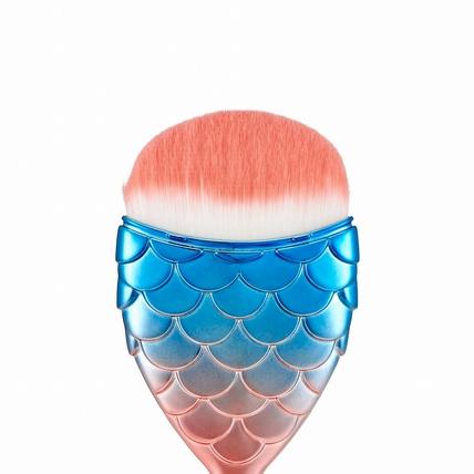 想刷出跟美人魚一樣的夢幻水嫩肌不是夢, 快用 THE FACE SHOP虹彩人魚刷具系列