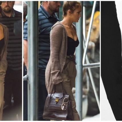 氣場全開的女人活得有多帥?J. Lo搶搭MK提包現身紐約街頭