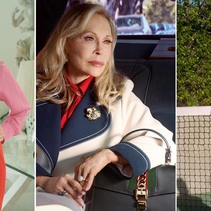 Gucci Sylvie緞帶包 貫穿演繹好萊塢名流母女情