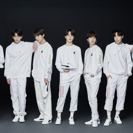 韓國人氣男團BTS防彈少年攜手PUMA打造最狂深蹲水晶神鞋