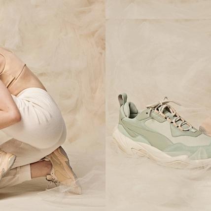 這回PUMA老爹鞋不裝酷了!推出限量粉嫩色系,要你重回初戀悸動