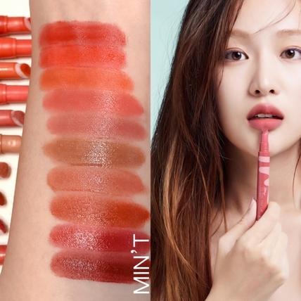 I'M MEME推出全新『我愛氣墊薄霧液態唇膏』絕對不踩雷完美10色,隨便擦隨便美!