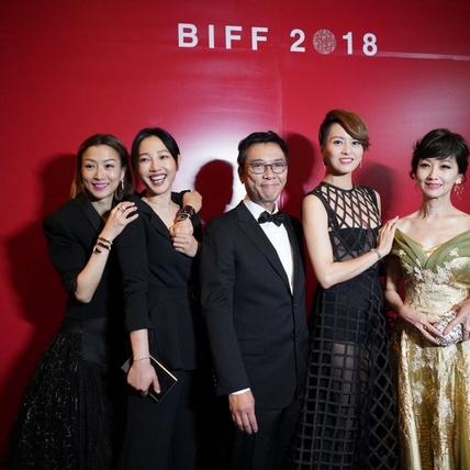 釜山影展/鄭秀文難忘生魷魚 梁詠琪性感禮服搶鏡