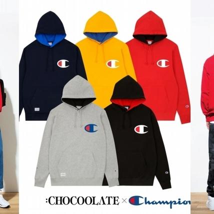 先不管愛不愛運動!:CHOCOOLATE x Champion 聯乘經典運動系列,搶著收藏就對了