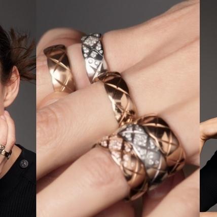 層次堆疊才是我的愛!綺拉‧奈特莉詮釋香奈兒Coco Crush高級珠寶系列搶先曝光