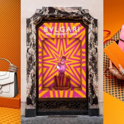 BVLGARI普普藝術風櫥窗也太美!全新佳節系列浪漫傳遞歡樂聖誕