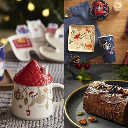 每年最期待就這一波!星巴克耶誕新品上市,可愛羊駝和樹懶陪你過節