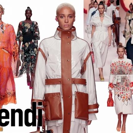 〈2019春夏米蘭女裝周〉Fendi  FF的無限延伸