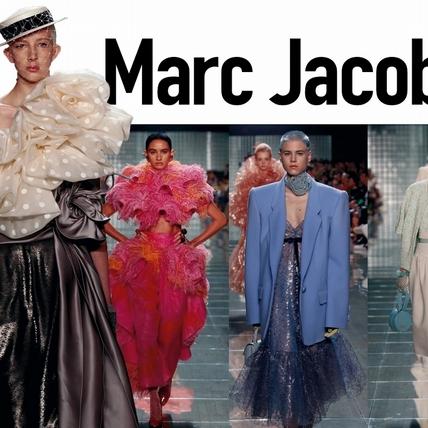 〈2019春夏紐約女裝周〉Marc Jacobs  我心中的80年代
