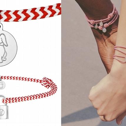 為童年掛上一抹溫暖!LV攜手珊莎推出小兔乖乖紅白手環誓言幫助弱勢孩童
