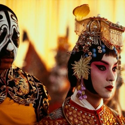 張國榮為戲禁食17小時 京劇不假替身親自上陣